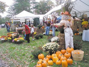 Image of scarecrow at fall fest
