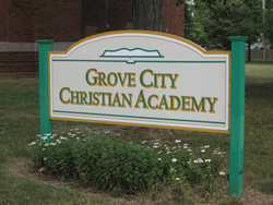 GC Christian Academy Sign